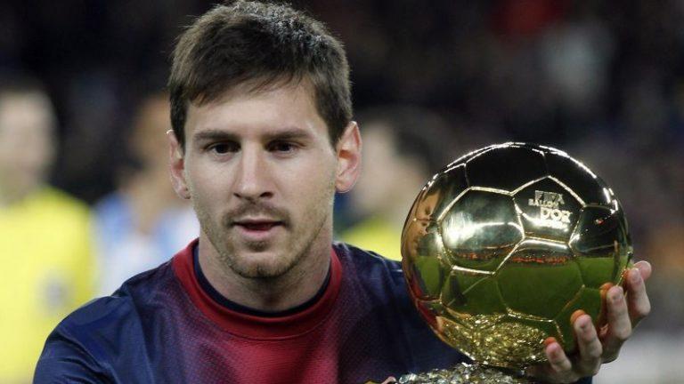 Messi guldboll